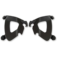 Memphis Shades Gauntlet Fairing Black Mounting Plates Only