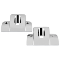 Biker's Choice Chrome Smooth Head Bolt Covers