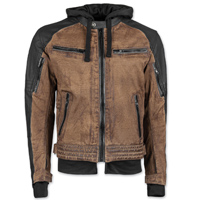 Speed and Strength Men's Straight Savage Brown/Black Jacket