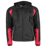 Speed and Strength Men's Fast Forward Red/Black Jacket