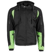 Speed and Strength Men's Fast Forward Hi-Viz/Black Jacket