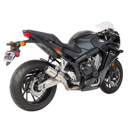Hot Bodies MGP II Full Exhaust System Carbon Fiber w/ Stainless End Cap