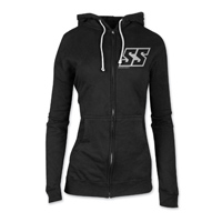 Speed and Strength Women's Corporate Black Zip Hoody