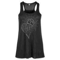 Speed and Strength Women's Cross My Heart Black Tank Top