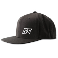 Speed and Strength Straight Savage Black Snap-Back Hat