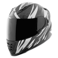 Speed and Strength SS1600 Cat Out'a Hell Silver/Black Full Face Helmet