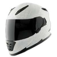 Speed and Strength SS1600 Cat Out'a Hell Silver/White Full Face Helmet