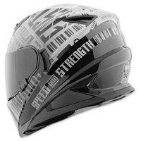Speed and Strength SS1310 Fast Forward Charcoal/Black Full Face Helmet