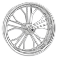 Performance Machine Dixon Chrome Front Wheel 18x3.5 Dual disc