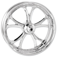 Performance Machine Luxe Chrome Front Wheel 21x3.5 Dual disc
