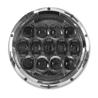 Cyron 7″ Chrome Urban 105W LED Headlight