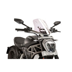 Puig Clear Naked New Generation Touring Windscreen
