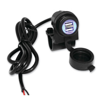 Cyron Dual Lighted Waterproof USB Charger