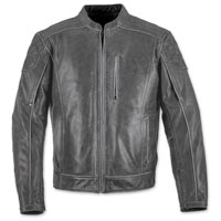 Black Brand Men's Carry-On Black Leather Jacket