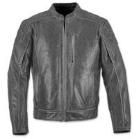 Black Brand Men's Carry-On Black Leather Jacket