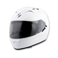Scorpion EXO EXO-T1200 Gloss White Full Face Helmet