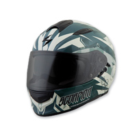 Scorpion EXO EXO-T510 Cipher Green Full Face Helmet