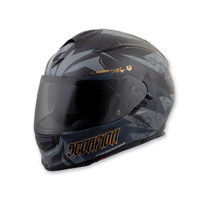 Scorpion EXO EXO-T510 Cipher Black/Gold Full Face Helmet
