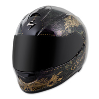 Scorpion EXO EXO-T510 Azalea Black/Gold Full Face Helmet