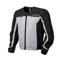 Scorpion EXO Men's Drafter II Silver Mesh Jacket