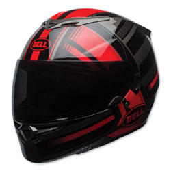Bell RS-2 Tactical Gloss Red/Black Full Face Helmet