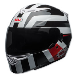 Bell RS-2 Empire White/Black/Red Full Face Helmet