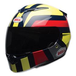 Bell RS-2 Empire Hi-Viz/Navy/Red Full Face Helmet