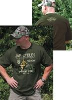 J&P Cycles® Military Girl T-Shirt