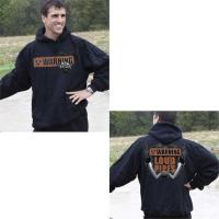 J&P Cycles Warning Loud Pipes Hooded Sweatshirt