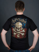 J&P Cycles® Reaper Flag T-shirt