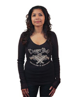 Chopper Dolls Cocked and Loaded Long-Sleeve Top