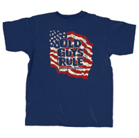 Old Guys Rule Well Served T-shirt