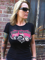Sick Boy Ladies Built For Speed Burnout Tee