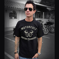 MotorCult Piston Pounders T-shirt