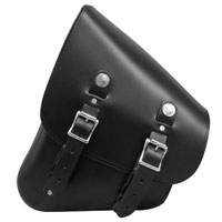 Leatherworks, Inc. Leather Left Side Solo Bag for V-Rod