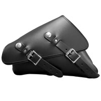 Leatherworks, Inc. Leather Left Side Solo Bag for Sportster
