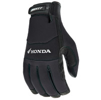Joe Rocket Men's Honda Crew Touch Textile Black Gloves
