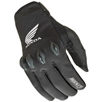 Joe Rocket Men's Honda Nation Textile Black Gloves