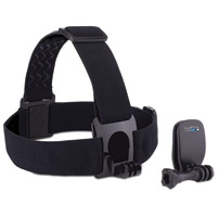 GoPro Head Strap Mount and Quickclip