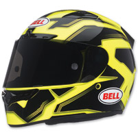 Bell Vortex Manifest Hi-Viz Full Face with Face Shield Helmet