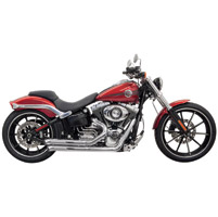 Bassani Pro-Street Chrome Exhaust System with Turn-out Ends