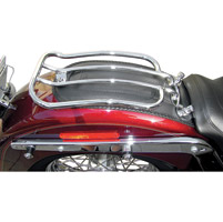 Motherwell Solo Seat Luggage Rack for Softail Models