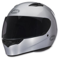 Bell Solid Metallic Silver Qualifier Full Face Helmet