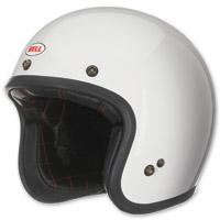 Bell White Custom 500