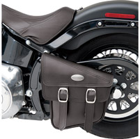 All American Rider Swingarm Storage Bags For Softails