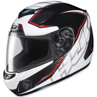 HJC CS-R2 Injector Red Stripe Full Face Helmet