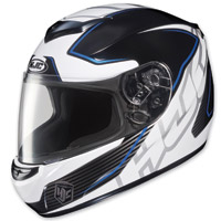 HJC CS-R2 Injector Blue Stripe Full Face Helmet