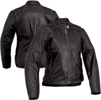 River Road Women's Rambler Black Leather Jacket