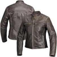 River Road Women's Drifter Brown Leather Jacket