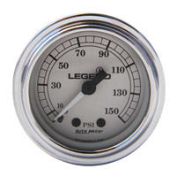 Legend LED Backlit Air Gauge-Silver